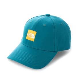 トレッキング 帽子 Square Logo Cap(スクエアロゴキャップ) NN41911 (グリーン)