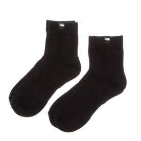 ソックス TNF Organic 2P Socks(TNF オーガニック 2P ソックス) NN82082 (ブラック)
