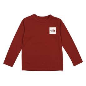 ジュニア アウトドア 長袖Tシャツ L/S Small Square Logo Tee(ロングスリーブスモールスクエアロゴティー) NTJ82119