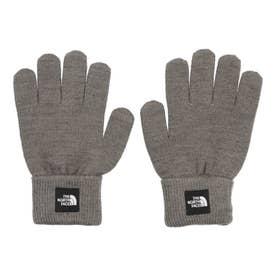 ジュニア アウトドア ウェア Kids Knit Glove(キッズニットグローブ) NNJ61907 (グレー)