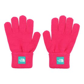ジュニア アウトドア ウェア Kids Knit Glove(キッズニットグローブ) NNJ61907 (ピンク)