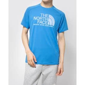 メンズ 陸上/ランニング 半袖Tシャツ S/S GTD LG CREW NT12092 (ブルー)