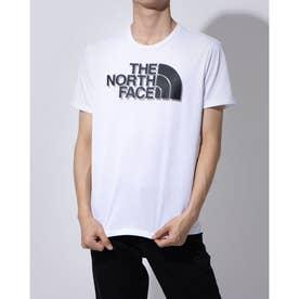 メンズ 陸上/ランニング 半袖Tシャツ S/S BIG LOGO TEE NT82070 (ホワイト)