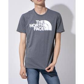 メンズ 陸上/ランニング 半袖Tシャツ S/S BIG LOGO TEE NT82070 (グレー)