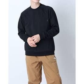 メンズ アウトドア 長袖Tシャツ L/S Airy Relax Tee(ロングスリーブエアリーリラックスティー) NT11967 (ブラック)
