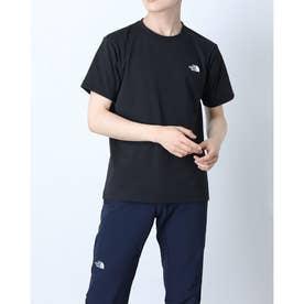 メンズ アウトドア 半袖Tシャツ S/S Back Square Logo Teeショートスリーブバックスクエアーロゴティー NT32144 (ブラ