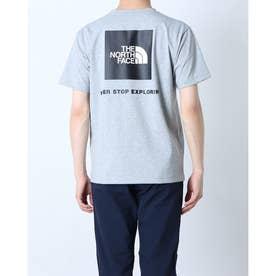 メンズ アウトドア 半袖Tシャツ S/S Back Square Logo Teeショートスリーブバックスクエアーロゴティー NT32144 (グレ