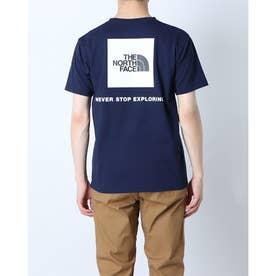 メンズ アウトドア 半袖Tシャツ S/S Back Square Logo Teeショートスリーブバックスクエアーロゴティー NT32144 (ネイ