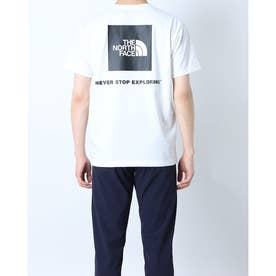 メンズ アウトドア 半袖Tシャツ S/S Back Square Logo Teeショートスリーブバックスクエアーロゴティー NT32144 (ホワ