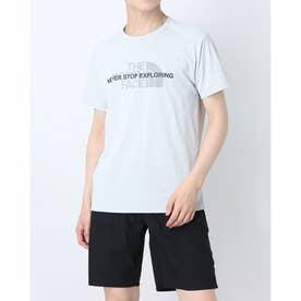 メンズ 陸上/ランニング 半袖Tシャツ S/S Ampere Crew(ショートスリーブアンペアクルー) NT12083 (グレー)