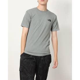 メンズ 半袖Tシャツ S/S Jacquard Square Logo Crew(ショートスリーブジャカードスクエア) NT12192 (グレー)