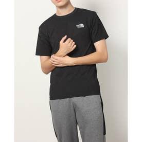 メンズ 半袖Tシャツ S/S Jacquard Square Logo Crew(ショートスリーブジャカードスクエア) NT12192 (ブラック)