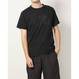 メンズ 陸上/ランニング 半袖Tシャツ S/S Vent Speed Crew(ショートスリーブベントスピードクルー) NT12177 (ブラック)