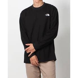 メンズ アウトドア 長袖Tシャツ L/S Back Square Logo Tee(ロングスリーブバックスクエアロゴティー) NT82131 (他)