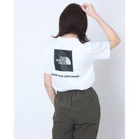 レディース アウトドア 半袖Tシャツ S/S Back Square Logo Teeショートスリーブバックスクエアーロゴティー NTW32144
