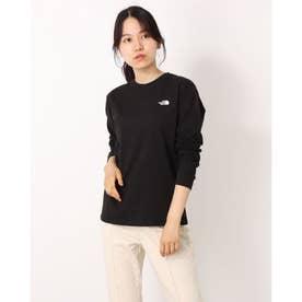 レディース アウトドア 長袖Tシャツ L/S Back Square Logo Tee(ロングスリーブバックスクエアロゴティー) NTW82131