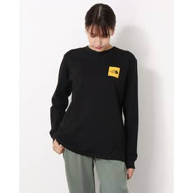 レディース アウトドア 長袖Tシャツ L/S Square Logo Tee(ロングスリーブスクエアロゴティー) NTW82136 (他)