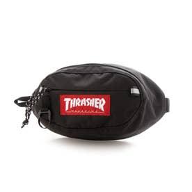 THRASHER/キッズ ヒップバック THR-219 (ブラック×レッド)