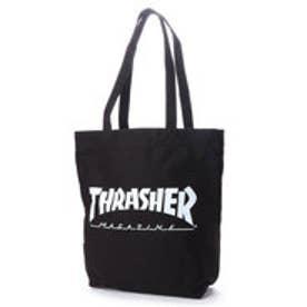 THRASHER/トートバッグ (ブラック)