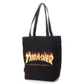 THRASHER/トートバッグ (ブラック/イエロー)