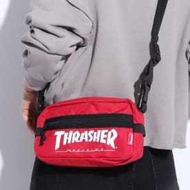 THRASHER/ショルダーバッグ (レッド)