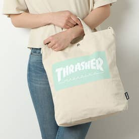 THRASHER/バック THR-133 (ホワイト×ブルー)
