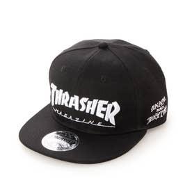THRASHER/キャップ THR-C03 (ブラック)