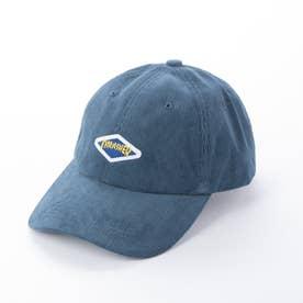 コーデュロイ6パネルキャップ (ブルー)