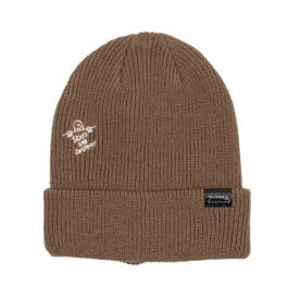 THRASHER/ビーニー ニット帽 21TH-N57 (ブラウン)