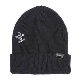 THRASHER/ビーニー ニット帽 21TH-N57 (ブラック)