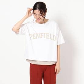 【PENFIELD/ペンフィールド】ロゴTシャツ (オフホワイト)