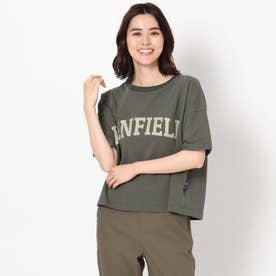 【PENFIELD/ペンフィールド】ロゴTシャツ (チャコールグレー)
