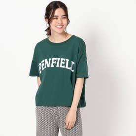 【PENFIELD/ペンフィールド】ロゴTシャツ (モスグリーン)