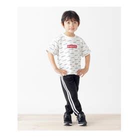 【100-150cm/パパおそろい】カンゴールトラックジャージパンツ (ブラック(019))