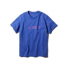 【100-150cm】パパとおそろい GERRY Tシャツ (ブルー)