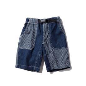 【100-150cm】カラーショートパンツ/新色追加 (ネイビー)