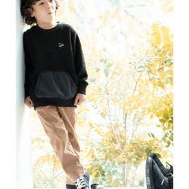 【015・094カラーWEB限定カラー】【裏起毛】あったかのび~るパンツ (サンドベージュ)