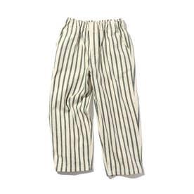 男の子・女の子みんな穿けるシェアパンツ/ブラック・ベージュ・ストライプは【撥水機能】付き!/腰回りが楽、動きやすいシルエット (ネ