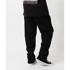 【150・160cm】男の子・女の子みんな穿けるシェアパンツ/ブラック・ベージュ・ストライプは【撥水機能】付き!/腰回りが楽、動き