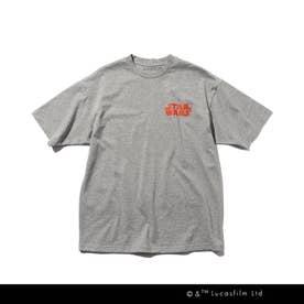 【WEB限定/160cmまで】STAR WARS/バックプリントTシャツ (ディープグレー)