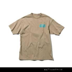 【WEB限定/150・160cm】STAR WARS/バックプリントTシャツ (ベージュ)
