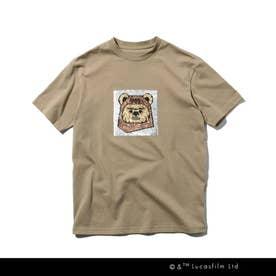 【160cmまで】STAR WARS/リバーシブルスパンコールTシャツ (サンドベージュ)