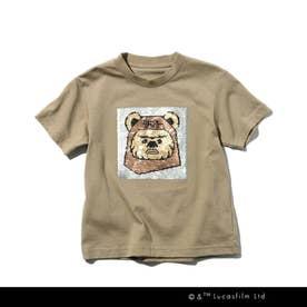 STAR WARS/リバーシブルスパンコールTシャツ (サンドベージュ)