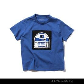 STAR WARS/リバーシブルスパンコールTシャツ (ブルー)