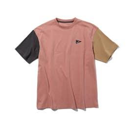 【リンクコーデ/150・160cm】バンダナバックプリントTシャツ (オレンジ)