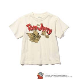 【WEB限定/リンクコーデ】トムとジェリー Tシャツ (オフホワイト)