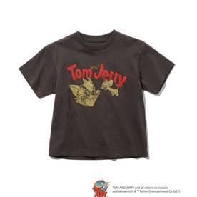 【WEB限定/リンクコーデ】トムとジェリー Tシャツ (チャコールグレー)