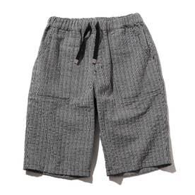 【160cmまで/リンクコーデ】サッカーパンツ (ブラック)