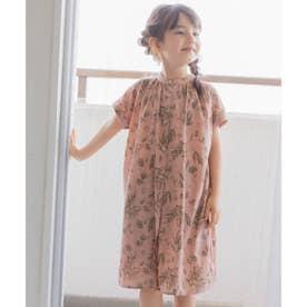 【ママとおそろい/110・130・150cm】ノワートワンピース (ピンク)