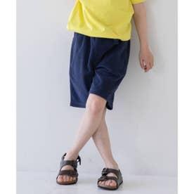 【WEB限定】カラフルパイルパンツ (ネイビー)